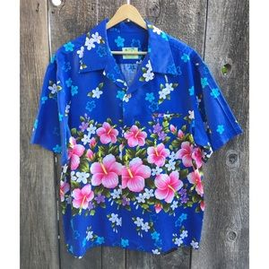 VTG 60s Ui-Maikai Aloha Shirt, Made in Hawaii